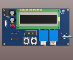 Mạch đếm sản phẩm dùng AVR và cảm biến màu TCS3200